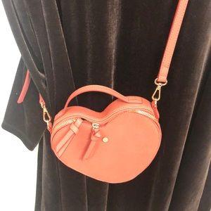 NWOT Lauren Conrad heart purse